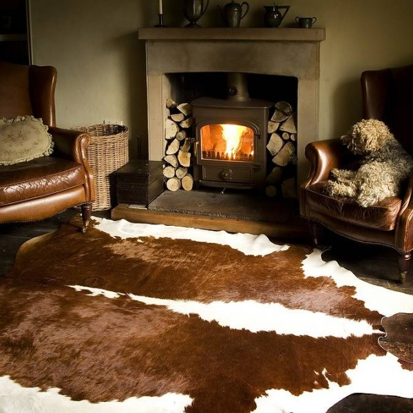 animal skin carpet