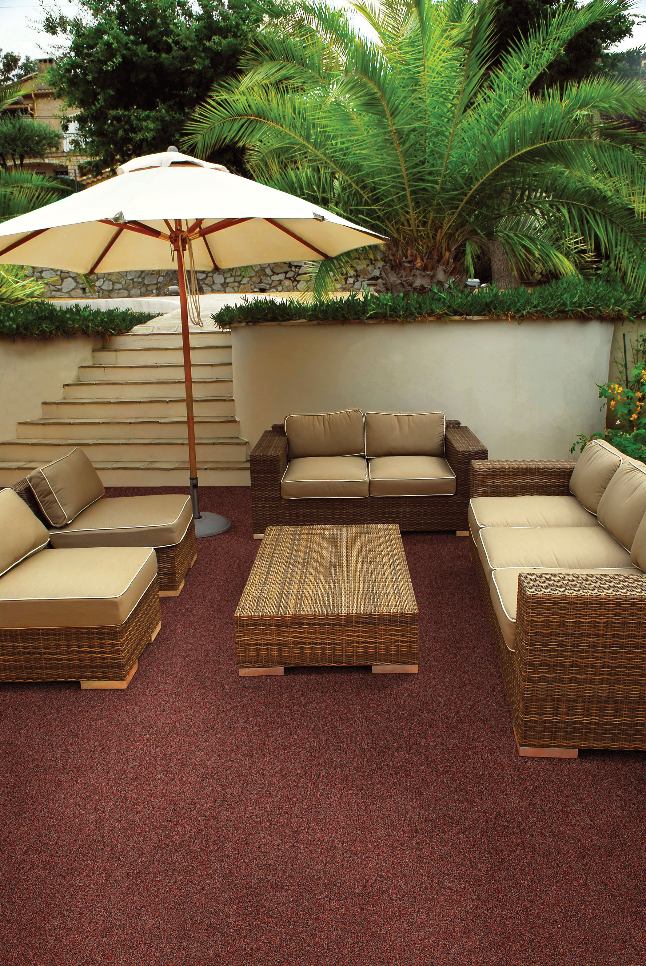 outdoor carpet ideas